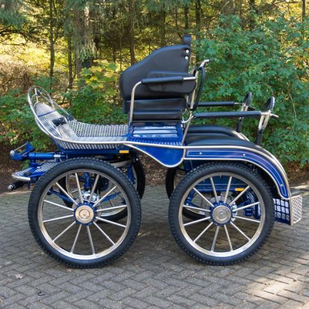 Koets Narvi-06186 voskamp hall blauw marathonwagen