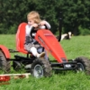 BERG Case-IH action with girl