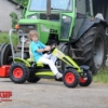 BERG Claas + lift bucket action with boy