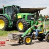 BERG John Deere BF-3 + pallet fork action with boy