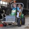 BERG John Deere BF3 + pallet fork action with child