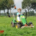 BERG John Deere BF3 + pallet fork with boy
