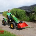 BERG John Deere + front linkage action with boy