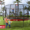 BERG_Elite_Regular_Red__+_Safety_Net_Deluxe_with_kids