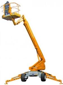 Semi-aanhanger-telescoop-hoogwerker