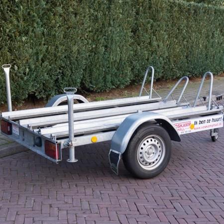 Aanhangwagen verhuur motortrailer 3