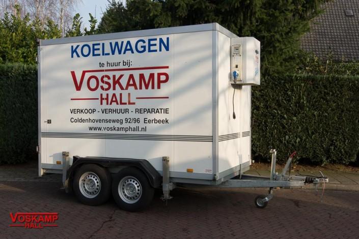 aanhangwagen verhuur tandemasser koelwagen