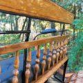 Koets Boheme 06235 voskamp hall recreatiewagen achterzitting