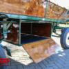 Koets Oberon Voskamp Hall Eerbeek-7562 Groot opbergvak onder de huifwagen