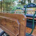 Koets Pallene-06350 voskamp hall fraai schutbord van hout