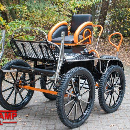 Tiger marathonwagen enkelspan VoskampHall-9447