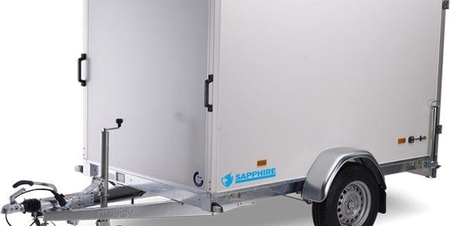 Hapert-sapphire-L-1 Gesloten aanhangwagen