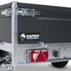 Hapert-Azure-plus steun poot en achterlicht bescherming