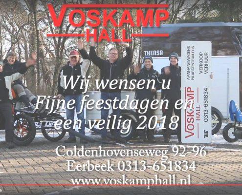 Kerstgroet 2017 Voskamp Hall