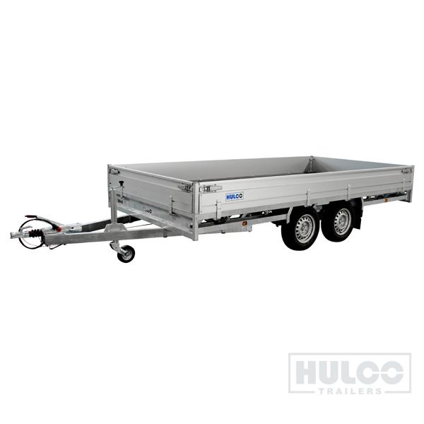 Hulco Medax Tandem Plateauwagen