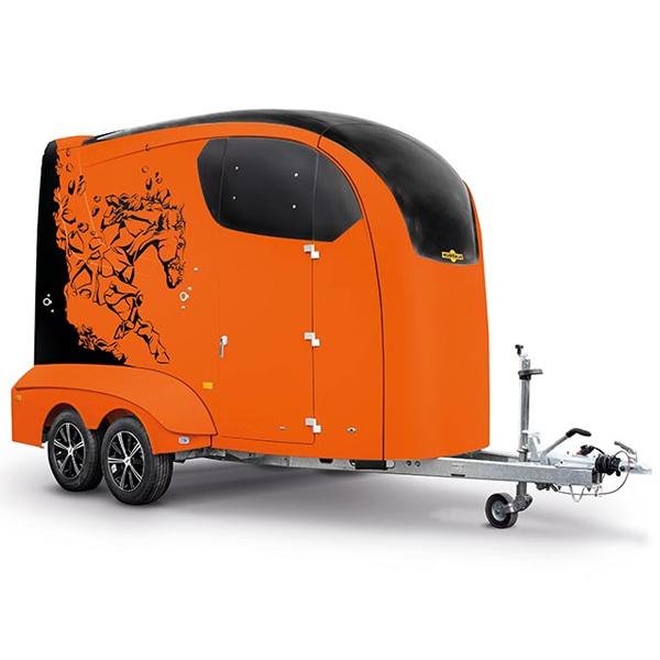 Humbaur Maximus oranje